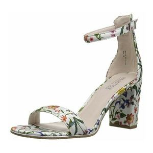Kenneth Cole Floral Print Strappy Heel